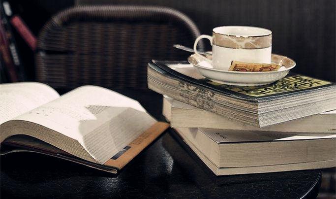 东电社 • 福利攻略 | 书香共享,来杯咖啡吧!