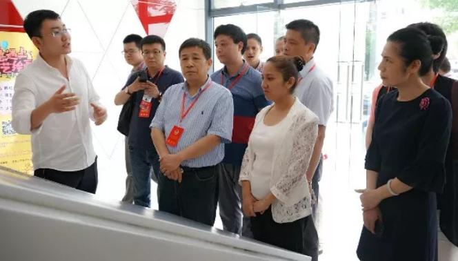 江干区政协赴禧福汇电商创意产业园调研,走访大学生创业企业