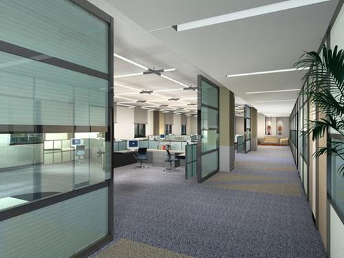 办公室隔断常用类型及作用