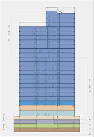 立体户型平面图